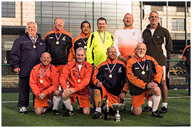 Fleetwood Town Flyers Seasiders Win Lancashire League. Walking Football