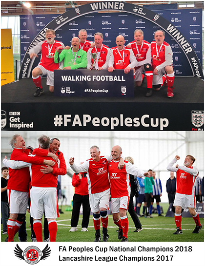 Fleetwood Town Flyers Walking Football Club