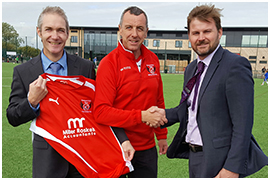 Fleetwood Town Flyers Secure Support From Miller Roskell Ltd.