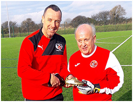Fleetwood Town Flyers Pete Smith Player Award